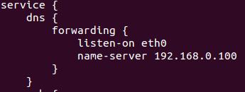 DNS Forwarding